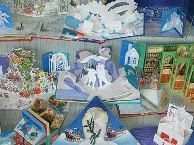 アドヴェントカレンダー&クリスマスしかけ絵本展