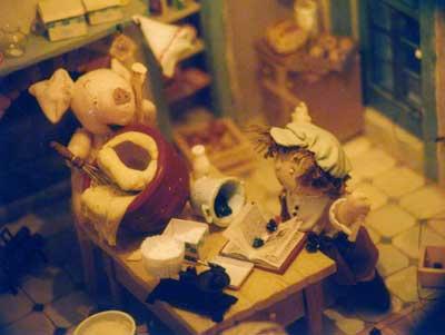 ドールハウス展 『こぶたのヘンリーのぼうけん展』2