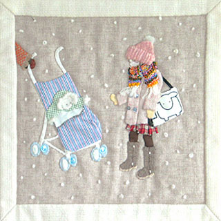 Story Quilt - Winter